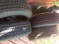 As new condition 225/60R16 Goodyear Eagle GA on steel