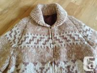 Sweater hundred percent wool in excellent shape. Lovely