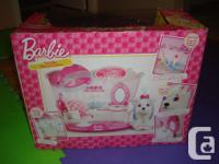 I have a Brand New in Box Barbie Pet Hair Salon for