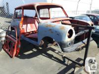Make Austin mini body on rotissery, new rockers and