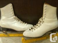 REDUCED... Daoust Olympic Figure Skates Quality leather