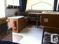 2002 Flagstaff tent trailer , 10 foot box . Sleeps six