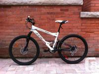 This is a sick mountain bicycle at a great cost. Was