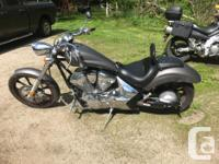 2010 Honda Fury. Gun Metal grey. Loads of extras and