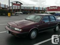 Make. Oldsmobile. Design. Cutlass. Year. 1989. Colour.