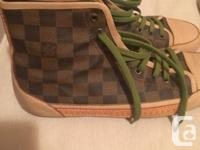 Authentic Louis Vuitton runners, bought in Vancouver at