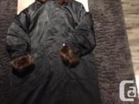Lundstrom Laparka Full Length Winter Jacket For Sale.