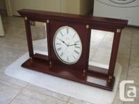 Oldwick Quartz Wall Clock by Bulova. Item Number: