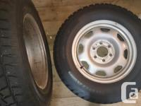 I have a pair of 245x70x17 winter tires [NOT studded]