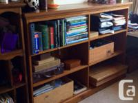 Australian made Solid Pine Bookcase, excellent