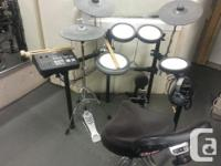 Here is a link to drums New without seat or kick