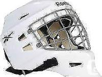 selling my used goalie mask only used for my final