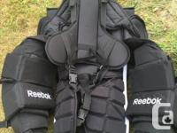 Basically brand new chest protector. Used 2 times, but