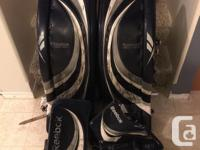 Offering set of RBK Pro Canadian made Pads, catch, and