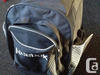 Reebok Hockey Back Stuff Bag on Wheels. Brand name New!