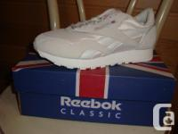 New white Reebok tennis shoes, still in the box! View