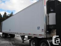 Year 2007 Colour White Have reefer trailers for sale ,