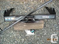 Reese Titan Heavy Duty Class 5 Trailer Hitch. Rated for