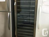 We currently have a refurbished Danby wine cooler for