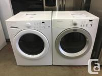 We currently have a refurbished Frigidaire front load