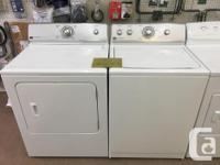 We currently have a few refurbished washer/dryer sets