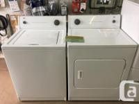 We currently have a few washer/dryer sets for sale.