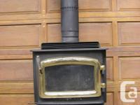 F1000 Regency Wood Stove will heat 600-1200 sq feet. for sale  British Columbia