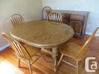 NECESSITY Sell- 42 inch large Strong oak & oak veneer