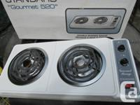 2 Burner Counter Leading Variety ... $25.  Like New in