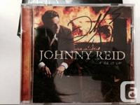 Johnny Reid, Fire It Up,. 2012 Cd from the British