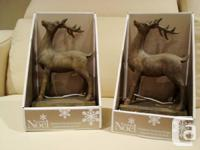 Xmas Reindeer Stocking Owners - Solid & Heavy. - Brand