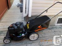 "Remington Lawn Mower - gas mower 21"" Cut 159cc OHV"