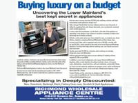 Discount Fridges, Ranges, Dishwashers, Washers, Dryers,
