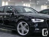 2012 Audi A4 S-Line Quattro. 18 payments left on a 48