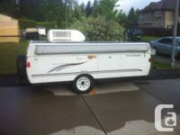 2006 TENT TRAILER (COLEMAN FLEETWOOD FOR RENT), LIKE