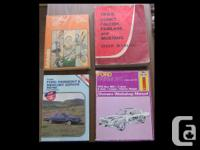 Haynes, Clymer, Autobooks and Ford Repair Manuals in
