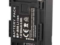Replacement battery for Canon BP-808 (890mAh) -Brand