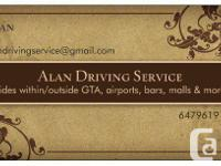 Alan Driving Service supplying reliable and inexpensive