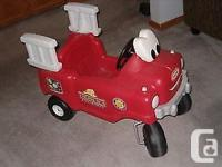 little tikes fire truck ,( No Offers .$36.00)_ Little