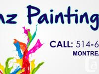 Bring color to your home! Interior paint with over
