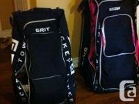 1 - big size GRIT hockey bag, pink, link brand-new,