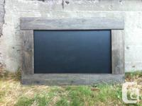 "Our Chalkboards come in 24""x12"", 36""x24"" & 54""x36"" with"