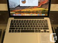 """We have a 13"""" MacBook Pro. Specifications: OS X 10.13.6"""