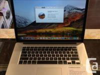 "We have a Retina 15"" MacBook Pro. Specifications: OS X"