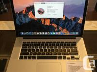 """We have a Retina 15"""" MacBook Pro. Specifications: OS X"""