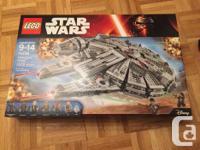 BRAND NEW LEGO Star Wars Millennium Falcon, recently