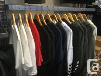 Store closing 30% off all clothing Store closing