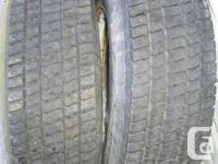 Retreaded Michelin and also Bridgestone x16.5 in great