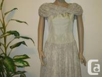 1940's 50's retro Dress, going back in time, silver