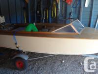 Blast from the past 1962 14ft wood boat with 20hp
